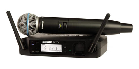 Shure GLXD24/B58 Z2 Handheld Wireless 2.4Ghz