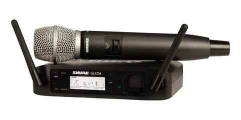 Shure GLXD24/SM86 Z2 Handheld Wireless 2.4Ghz