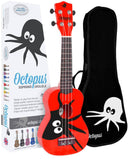 Octopus UK200-KAR Ukulele - Kane Red