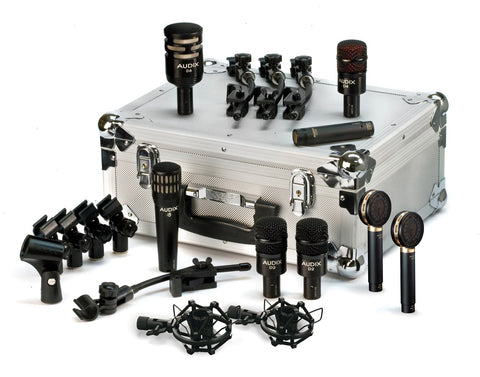 Audix STE8 DP Studio Elite 8-Piece Mic Set