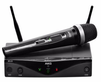 AKG WMS420 Vocal Set Wireless Handheld System