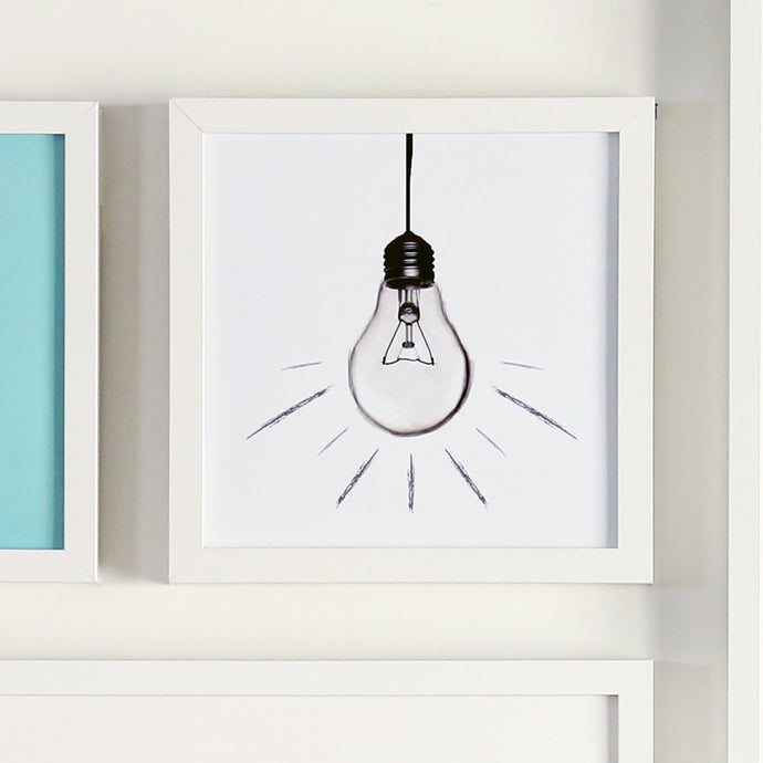 Light Bulb Printable Sign
