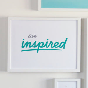 Live Inspired Printable Sign