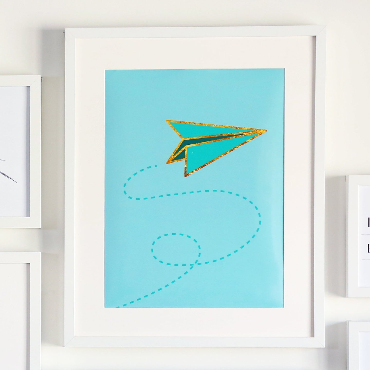 Paper Airplane Printable Sign