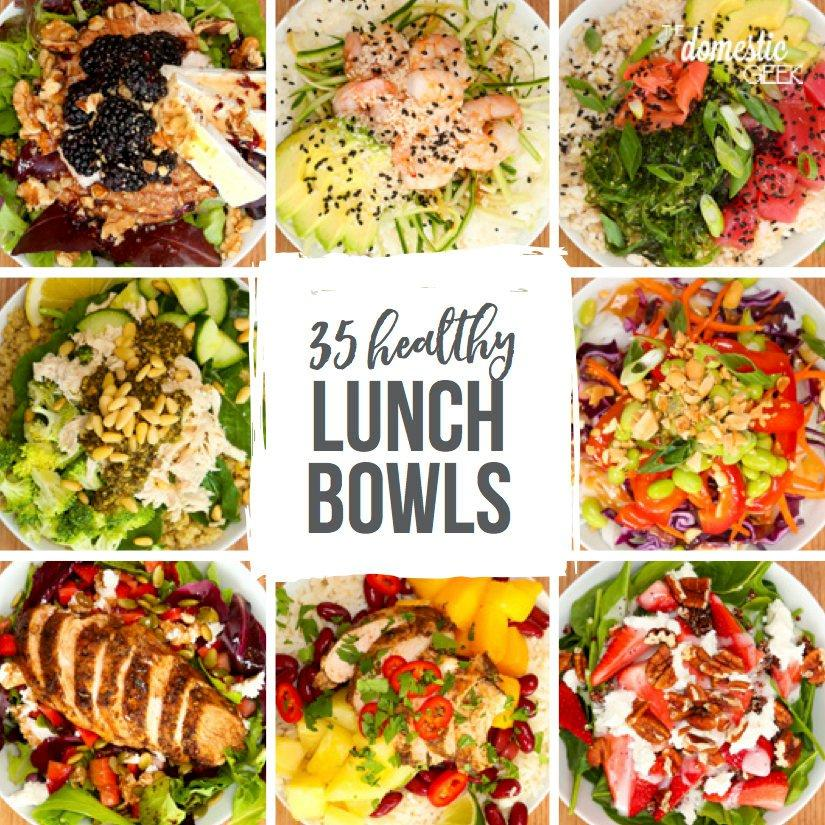 Healthy Lunch Bowls