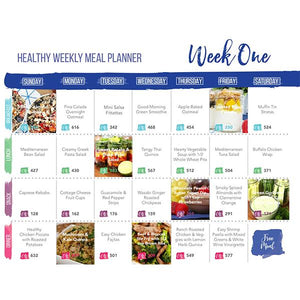 Healthy Meal Plans 2017
