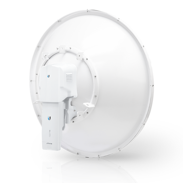 airFiber 11 GHz Low-Band Backhaul Radio with Dish Antenna