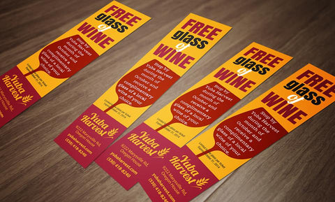 Hand Out Trade Show Customized Bookmarks | Trade Show House