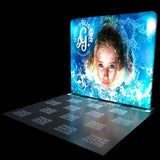 10ft Backlit Tension Fabric Display - Backlit Displays