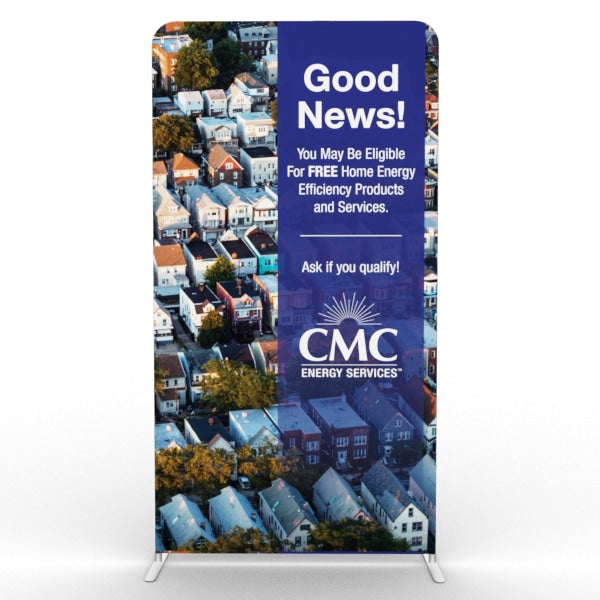 4ft Tension Fabric Banner Stand - Tension Fabric Banner Stands