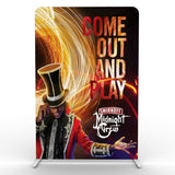 5ft Tension Fabric Banner Stand - Tension Fabric Banner Stands
