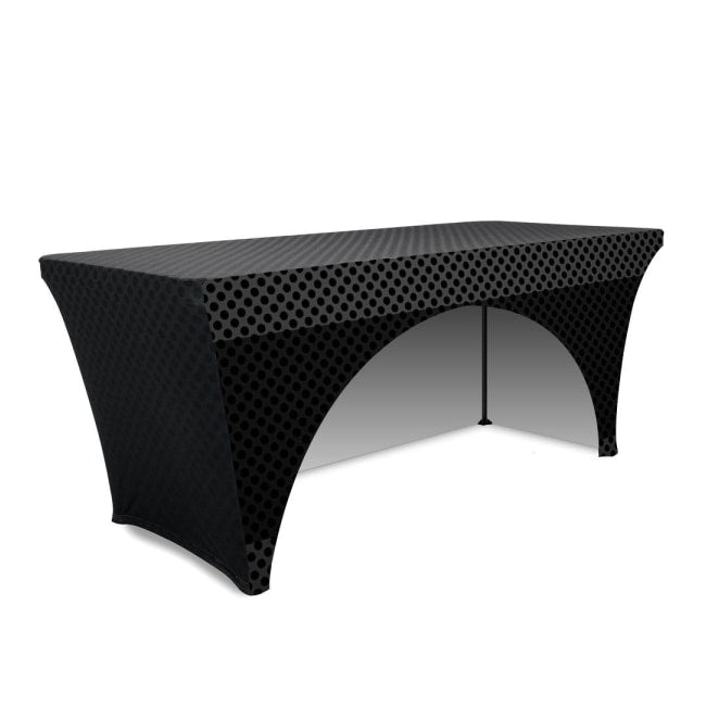 sc 1 st  Trade Show House & 6ft Stretch Table Cover - 3 Sided \u2013 Trade Show House
