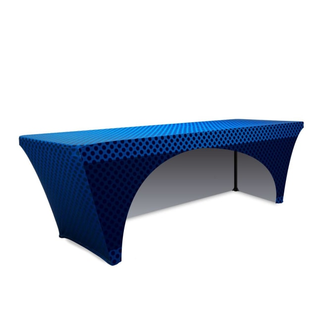 Image result for table cover for trade shows