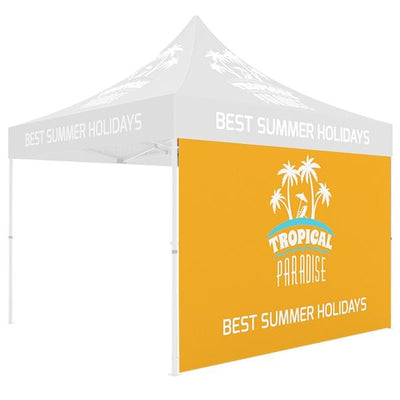 Backwall Graphic for 10ft Pop Up Tents