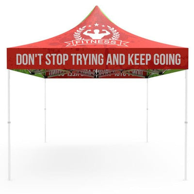 Canopy Top Graphic for 10ft Pop Up Canopy Tents
