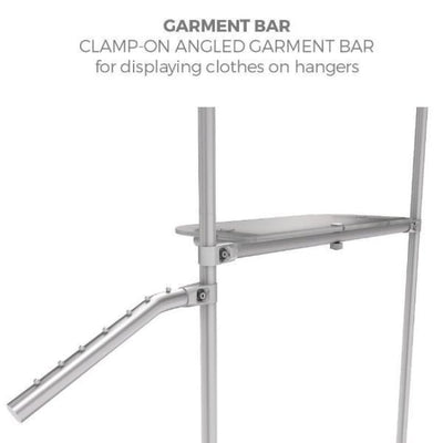 Merchandise Garment Angled Rivot Bar - Merchandiser Accessories