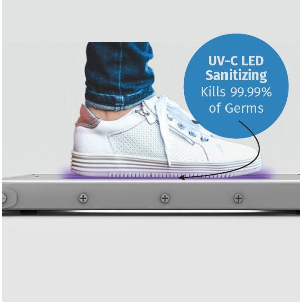 Portable UV-C LED Shoe Sanitizing Platform