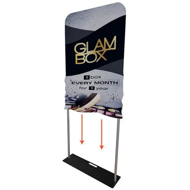 Tension Fabric Banner Stand - 3Ft - Fabric Banner Stands