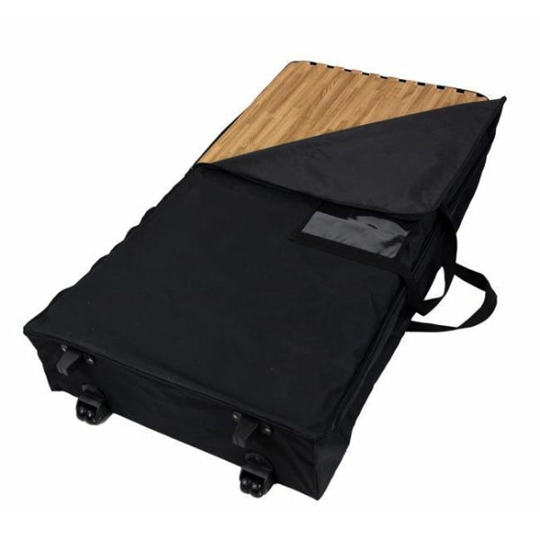 Trade Show Flooring Soft Nylon Travel Case with Wheels - Cases & Bags