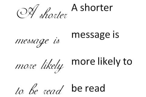 Easy To Read Fonts | Trade Show House