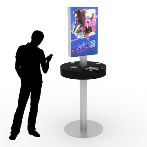 Trade Show Charging Table Stand | Trade Show House