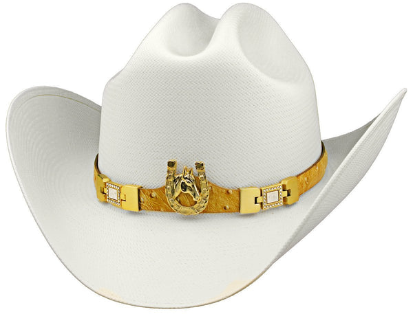 "Admirable® Straw Hat 100X 3.5"" (2V 451)"