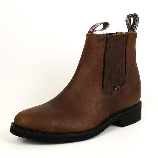 Men's Establo Work Ankle Boot Crazy Brown 555