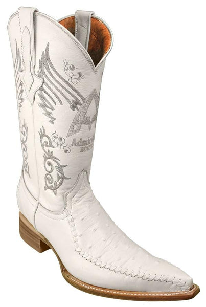 Admirable® Boots Ostrich (White)