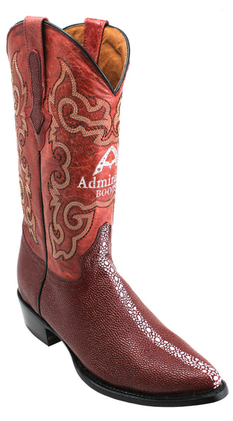 Admirable® Mantaray Print Boots (Wine)
