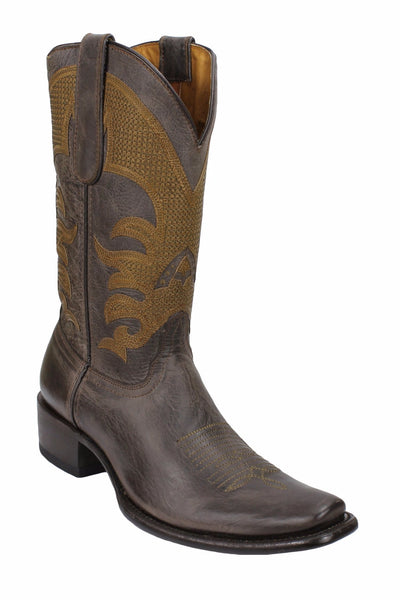 Admirable® Fresno Dubai All Leather Boots (Chocolate)