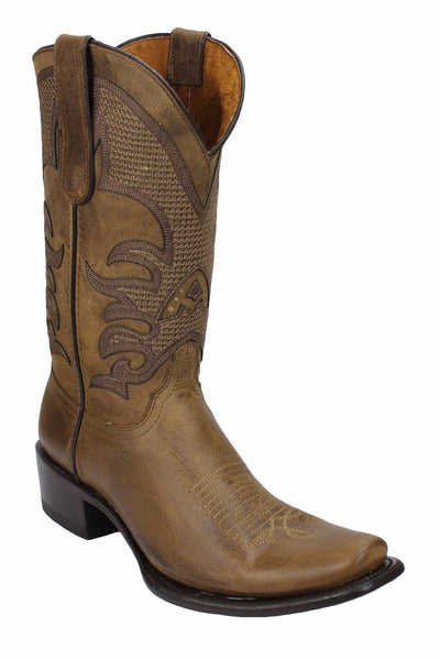 Admirable® Fresno Dubai All Leather Boots (Tobacco)