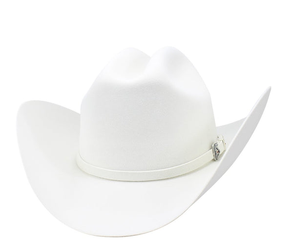 "Admirable® Felt Hat 6X 4"" (White)"