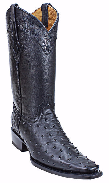 Admirable® Boots Ostrich Versace (Black)