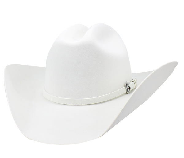 "Admirable® Felt Hat 30X 4"" (White)"