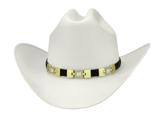 "Admirable® Straw Hat 100X 3.5"" (3VO)"