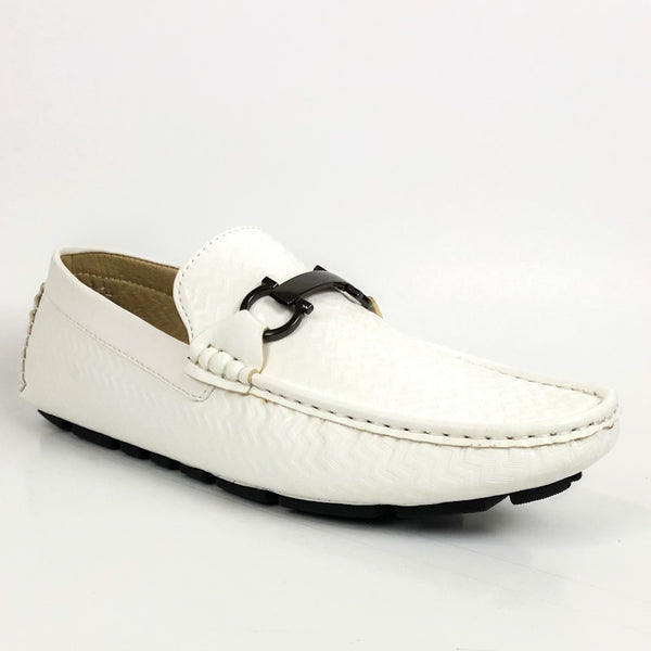 Marco Vitale Men's Shoes Italian Dress Casual Moccasin Loafers