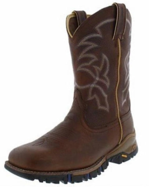 Tony Lama Men's Workboot Roustabout Waterproof TW5001