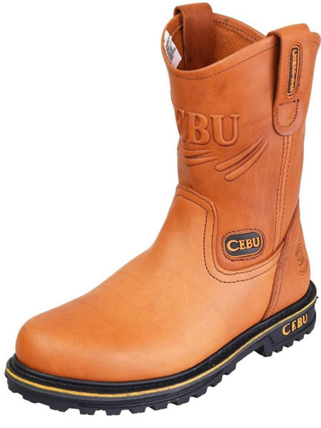 Men's Cebu Work Boot Miel Tractor STK