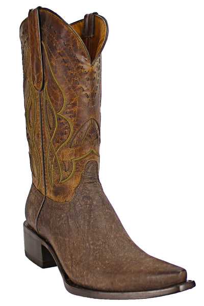 Admirable® Boots Elephant Sniptoe (Rustic Brown)