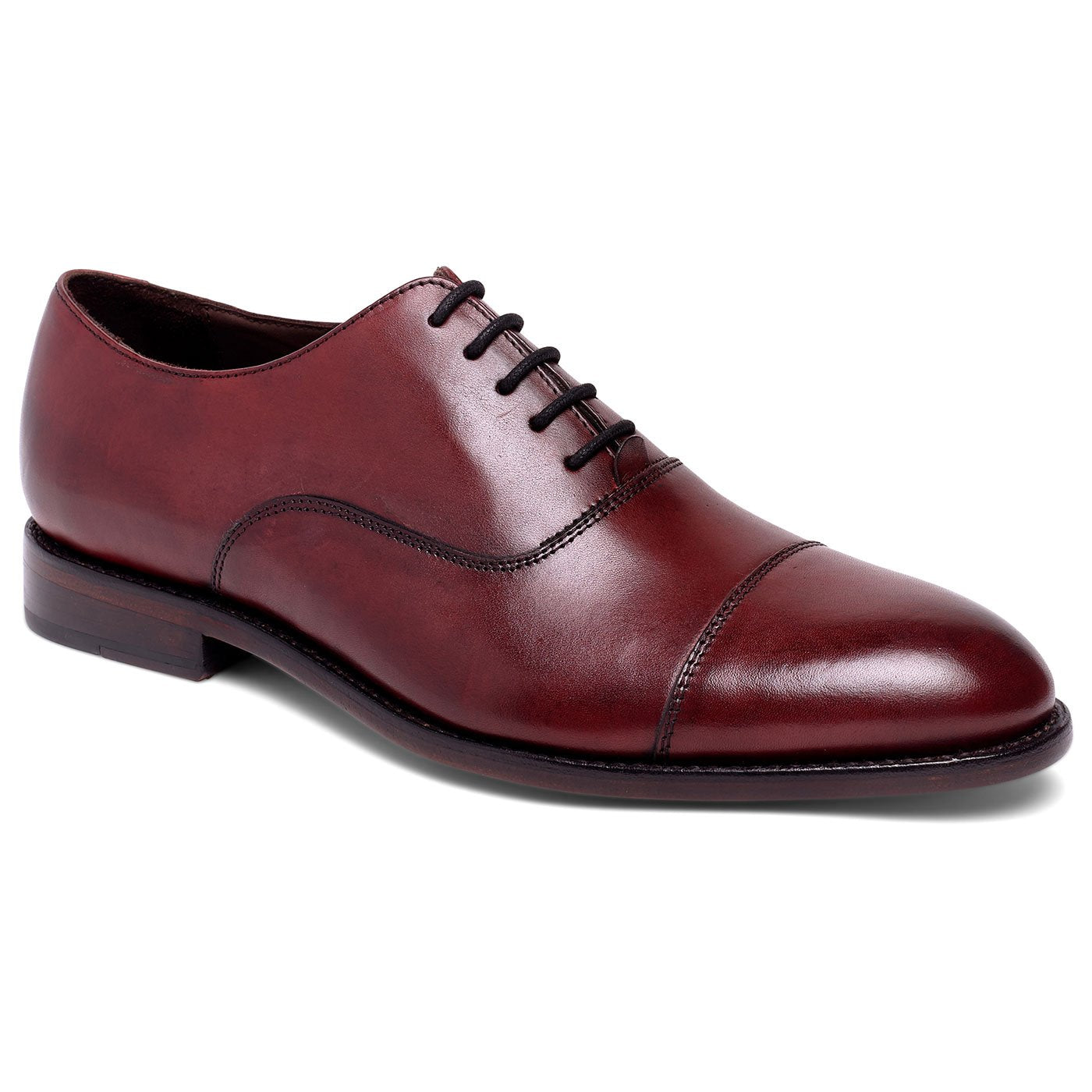 Clinton Cap-toe Oxford Oxblood