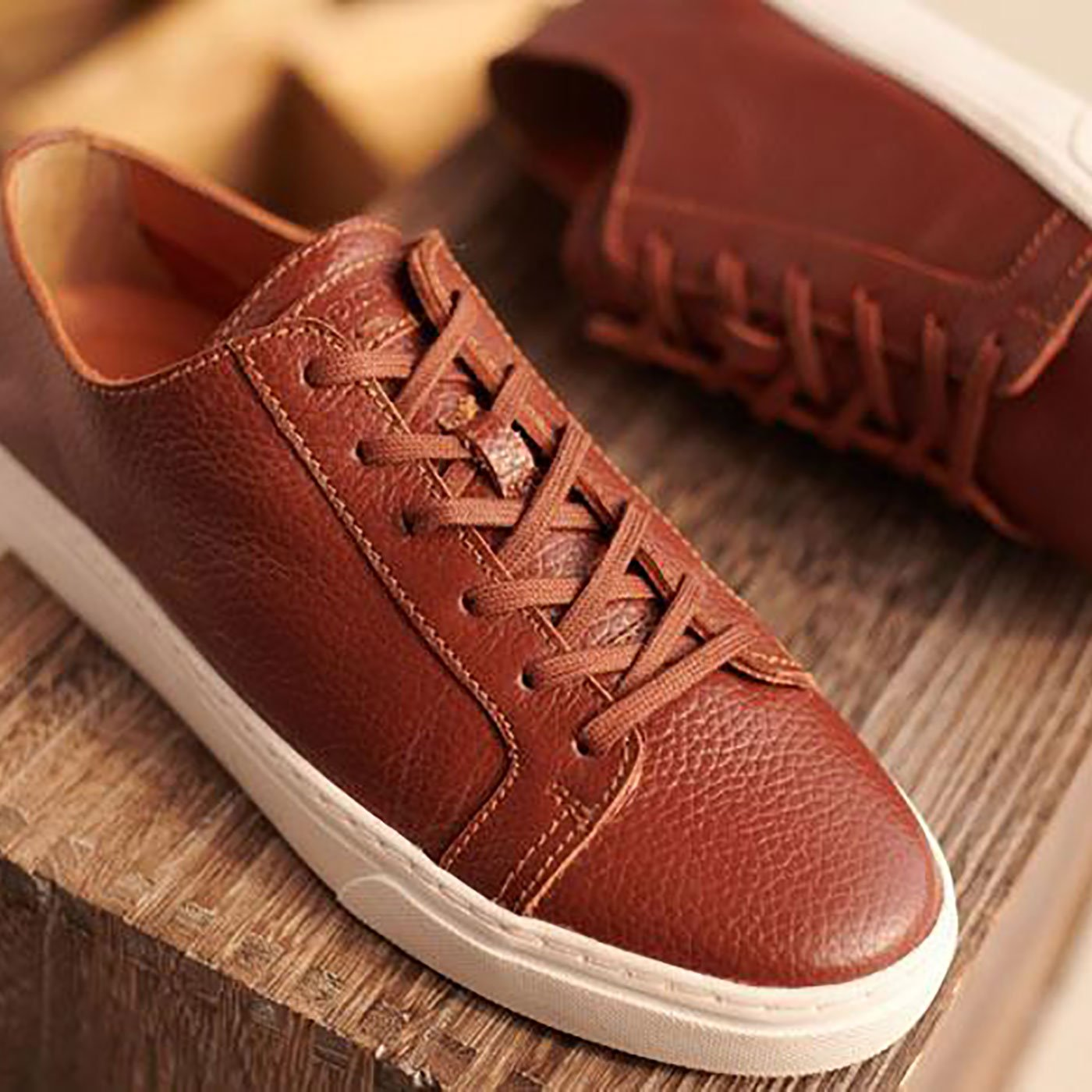 Coolidge Tennis Sneaker Brown