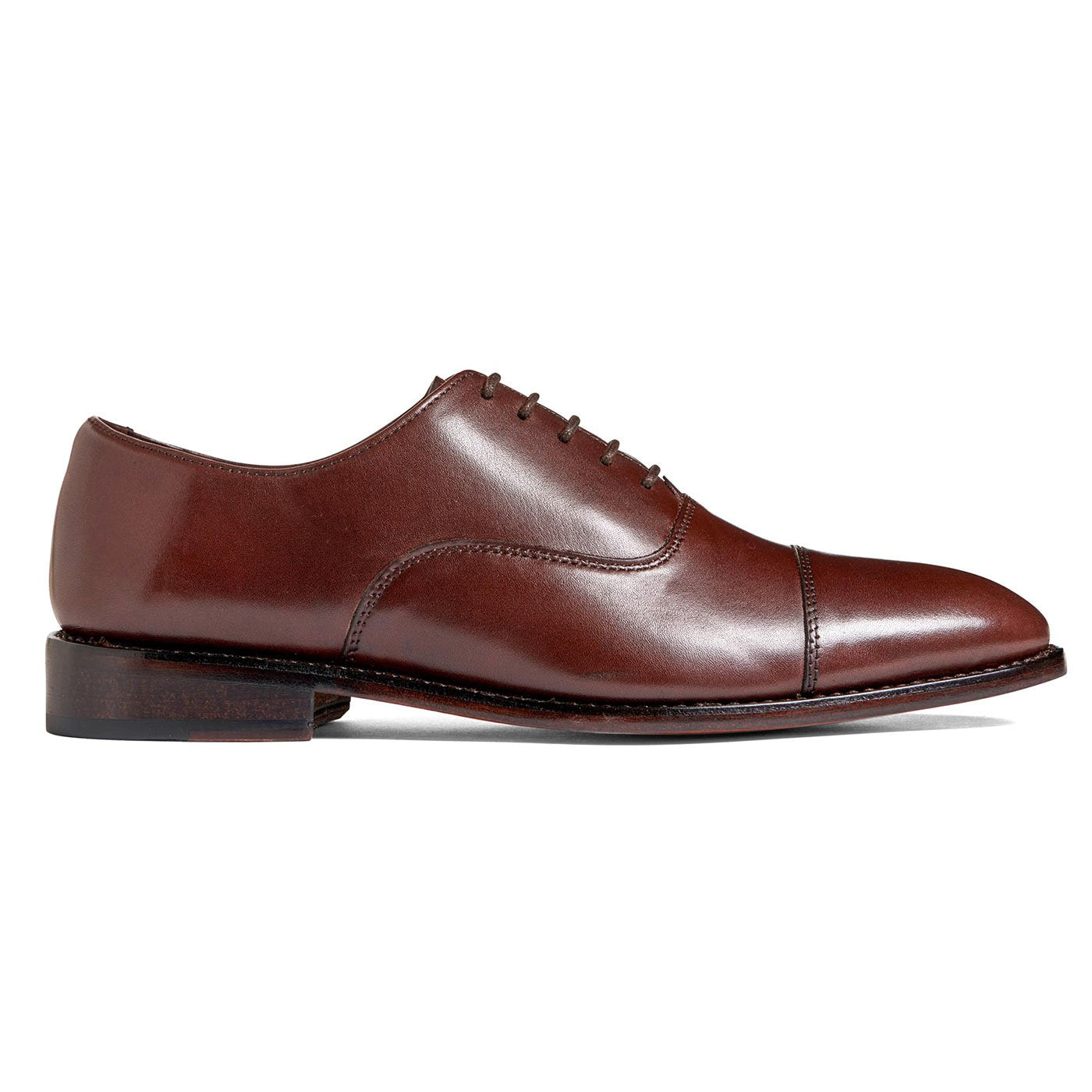 Clinton Cap-toe Oxford Chocolate Brown