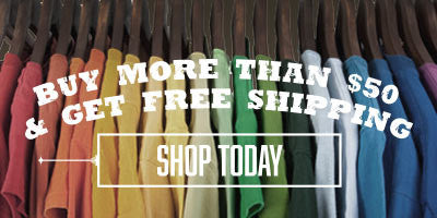SPEND OVER $50 GET FREE SHIPPING
