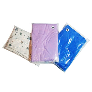 3 pack, multi-sized swaddle blanket, soft cotton wrap, fits newborn baby 0 - 9 month old infant.