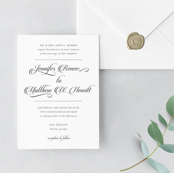 Invitation Shoppe Elegant