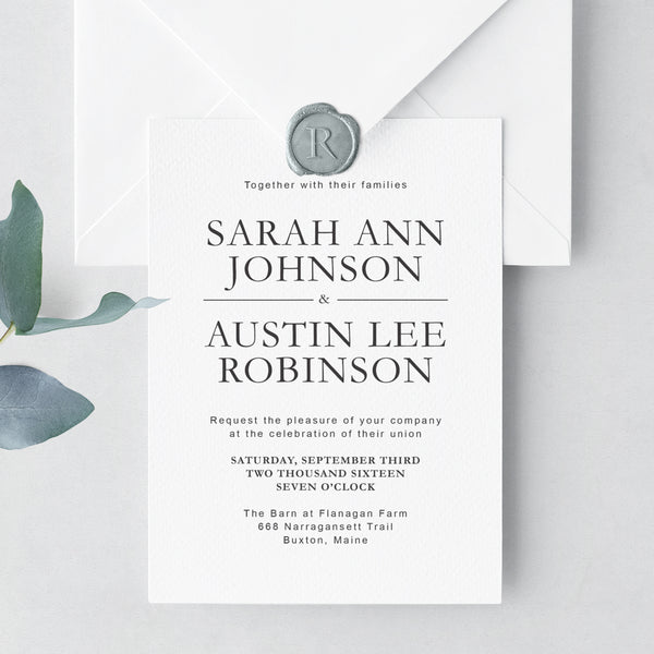 Invitation Shoppe Handsome