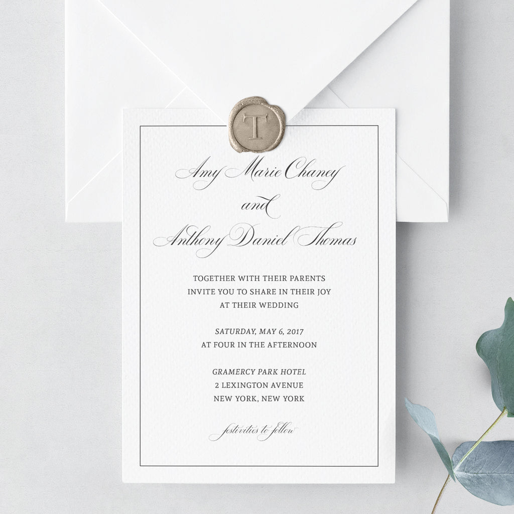 Invitation Shoppe Refined