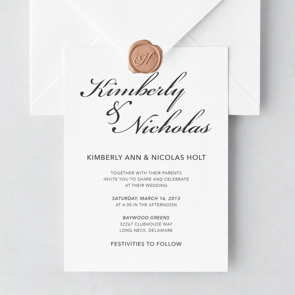 Invitation Shoppe Romantic