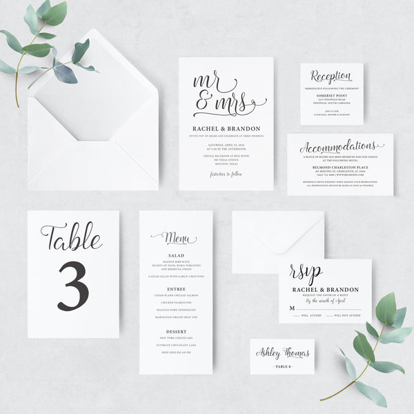 Invitation Shoppe Whimsical Suite