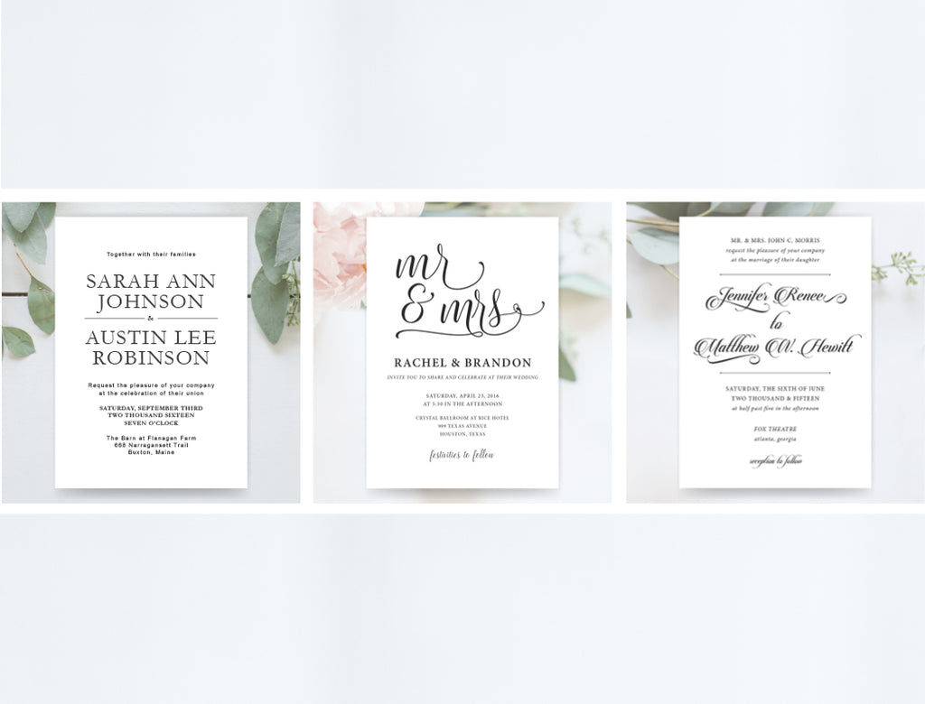 Invitation Shoppe - Whimsical Design